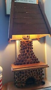 "Folk Art Lamp "" HFX Hoarders and Collectors"""