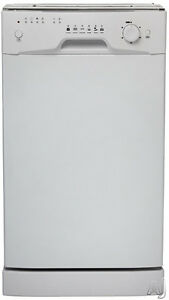 """dishwasher 18"""" white danby-clearance sale-with warranty-$179.99"""
