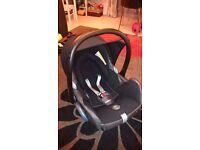 Maxi-Cosi CabrioFix car seat from newborn