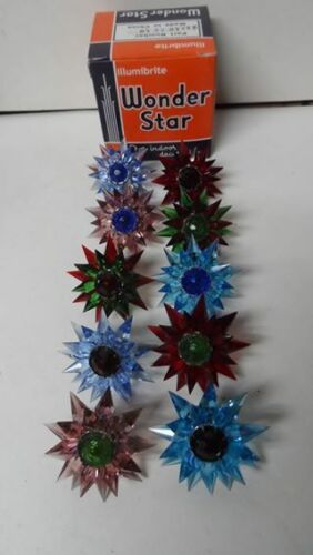 ILLUMIBRITE MATCHLESS STAR C-6 Christmas Lights - 10 Different Color Combos