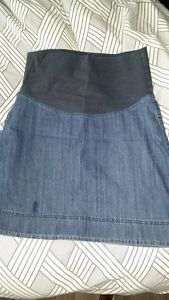 Thyme maternity jeans skirt size large