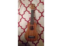 Snail Soprano Ukulele (rosewood and mahogany, excellent condition)
