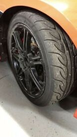 Honda Civic Type R EP3 Wheels Track Tyres AD08R, RBC, Tegiwa, 70mm TB etc