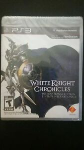 (PS3) WHITE KNIGHT CHRONICLES International Edt *NEW UNOPENED
