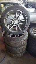 17 Inch Holden Commodore Alloy Wheels And Tyres Bayswater Bayswater Area Preview