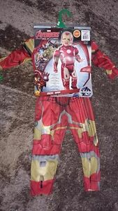 Sizt 2T Iron Man Halloween costume