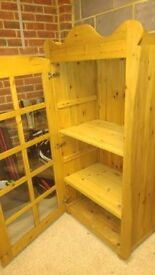 Disney Inspired Pine Display Cabinet OFFERS WELCOME