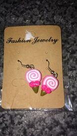 Lollipop Earrings - Great Stocking Filler