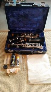Clarinet w/ cleaning supplies