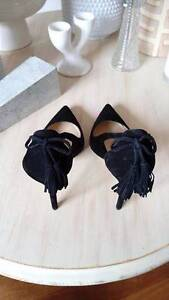 New Black Suede Pumps - Size 40 - Wittner Manly Vale Manly Area Preview