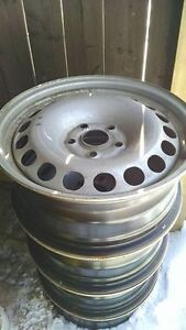 Silver 16 Inch Steel Rims For Sale