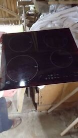 AEG induction hob . Like new & perfect working order.