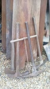 old farm tools price each except for crowbar which is $25 Ipswich City Preview