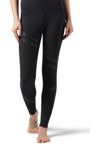 Reebok High Rise Legging (Black or Red) - Size L