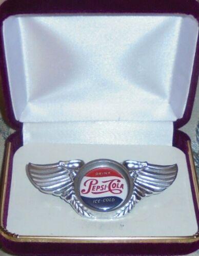 Pepsi Cola Service Employee Truck Driver Union Badge Pin Jacket Motorcycle Coke