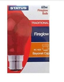 Fire glow 60wheat bulb for chicks brooder kit