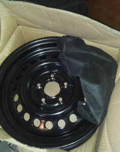 """5x100, 14"""" Steel rims, BRAND NEW IN BOX only $25ea"""