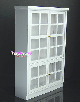 1:12 Dollhouse Miniature Furniture Kitchen Cabinet Cupboard  Display Shelf Wood