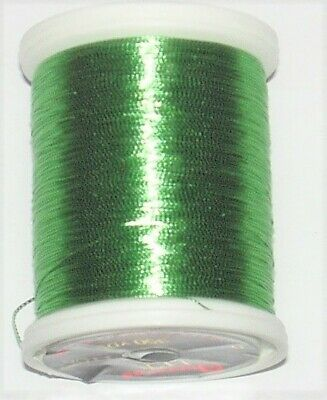 Gudebrod Rod Building Thread 1 Oz Spool FUSCHIA #9206 HT Metallic Size A or D