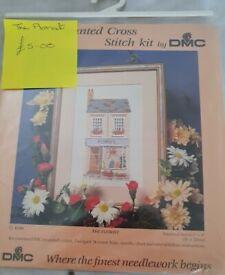 DMC cross stitch kit - The Florist