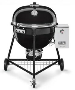 Brand new Weber Summit Charcoal BBQ used once! Full warranty!