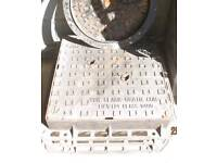 Clark ductile 600 x 600 x100mm manhole cover and frame nos