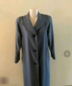 Vintage Woman's Coat - Misty Harbour by Niccolini