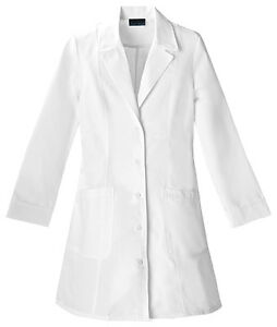 Scrubs-Cherokee-Womens-36-Notch-Collar-Lab-Coat-2410-Buy-3-Ship-6