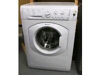 White hotpoint washing machine 7kg