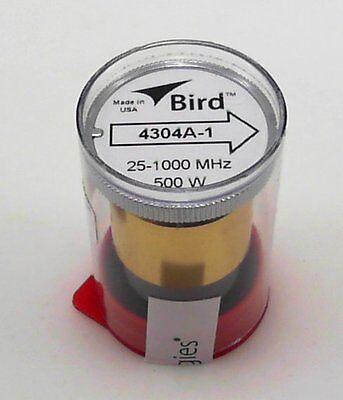 Bird Wattmeter Element 4304A-1 25-1000 MHz 500W 4304-1 (New)