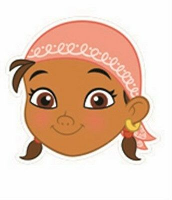 Izzy from Jake & The Neverland Pirates Disney Single Fun CARD Party Face Mask