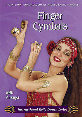 Learn How to Play Finger Cymbals with Ansuya - Belly Dance DVD Video