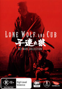 Lone Wolf and Cub - Ultimate Collection DVD R4 *NEW / SEALED*