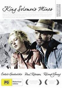 King Solomon's Mines ( 1937 )  (DVD, 2012) New Region 4