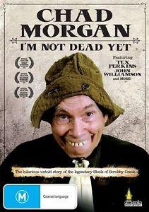 Chad-Morgan-Im-Not-Dead-Yet-DVD-R4-NEW-SEALED