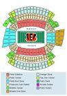 Cincinnati Bengals Paul Brown Stadium Sports Tickets