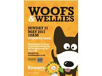 Woofs & Wellies - Rowans Hospice fun Dog Walk