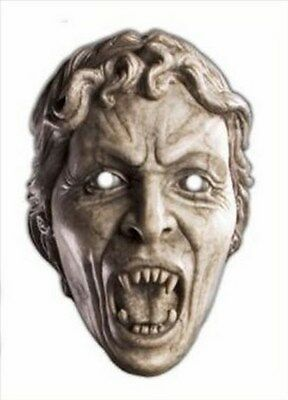 The Weeping Angel Doctor Who Monster Official Fun CARD Single Party Face Mask](Doctor Who Weeping Angel Mask)
