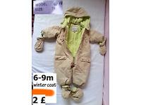 kids coats 6-9m