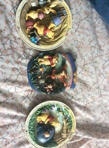 bradford exchange winnie the pooh plates for the wall-want gone