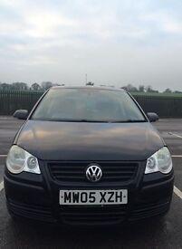 VW Polo, 1.2, petrol, great on fuel, low insurance, MOT until October