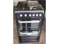 Hotpoint gas cooker free standing 50 cm wide