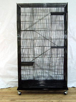 Extra Large 5 level Canary Parakeet Cockatiel LoveBird Finch Bird Cage BLK 319
