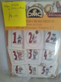 All Our Yesterdays cross stitch kit