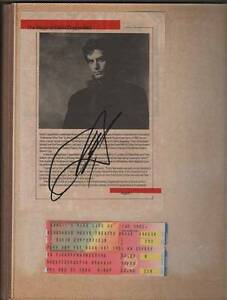 Vintage David Copperfield Autograph
