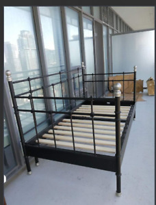 BED FRAMES FOR SALE ASAP VERY GOOD CONDITIONS ALSO NEW $80 EACH