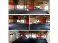 Large Venue Space for Rent, No Fixed Rates, Large Open Space, Office space, Mezzanine area