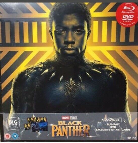 Blue Ray Dvd Black Panther In Beccles Suffolk Gumtree