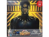 Blue ray dvd black panther