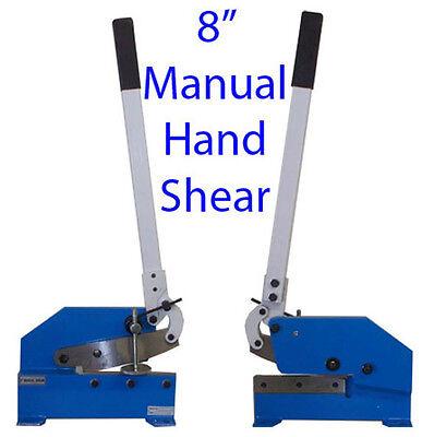 8 Manual Hand Shear Shearer Sheet Metal Steel Cutter Free Shipping